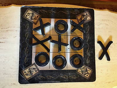 Photograph - Tic Tac Toe by Denise Mazzocco