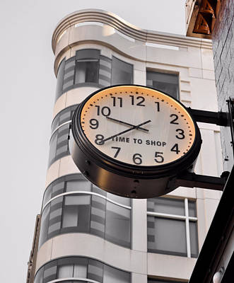 Photograph - Tick Tock by JAMART Photography