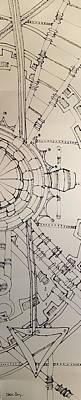 Steampunk Drawings - Tick Tock by Karla Kay Benjamin