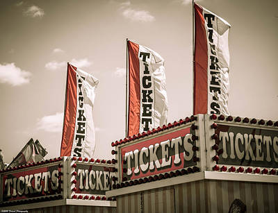 Photograph - Ticket Booth by Debra Forand