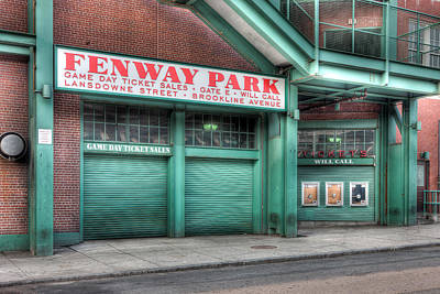 Fenway Park Photograph - Ticket Windows by Clarence Holmes