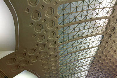 Photograph - Ticketing Ceiling by Cora Wandel