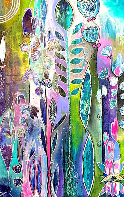 Wall Art - Painting - Tickle My Fancy by Carol Iyer