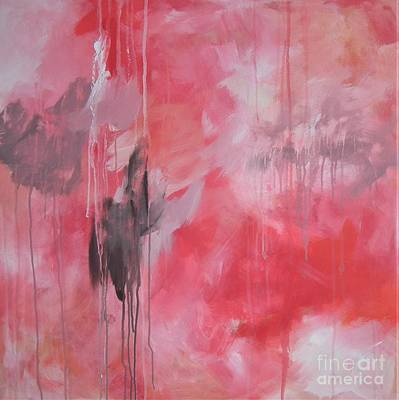 Painting - Tickled Pink 1 by Kristen Abrahamson