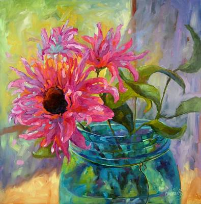Painting - Tickled Pink by Chris Brandley