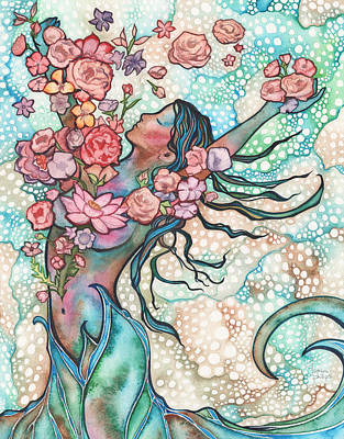 Tidal Bloom Art Print