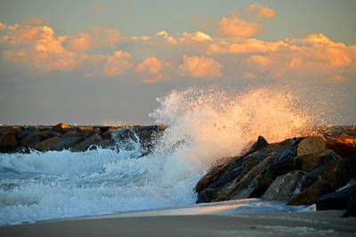 Tidal Energy - Cape Cod Bay Art Print by Dianne Cowen