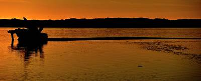 Photograph - Tidal Flats 6031 by Jerry Sodorff