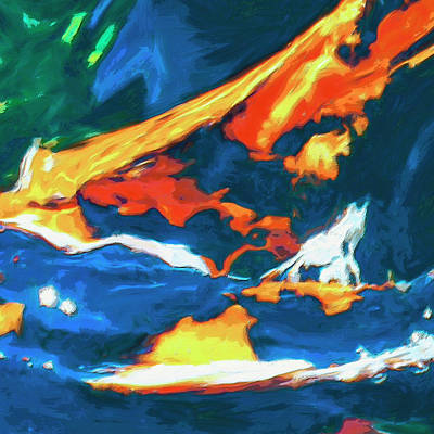 Art Print featuring the painting Tidal Forces by Dominic Piperata