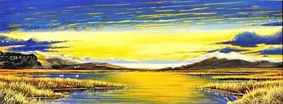 Tidal Lands Art Print by Bob Patterson