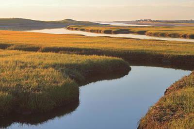 Photograph - Tidal Marsh From Sandwich Boardwalk by John Burk