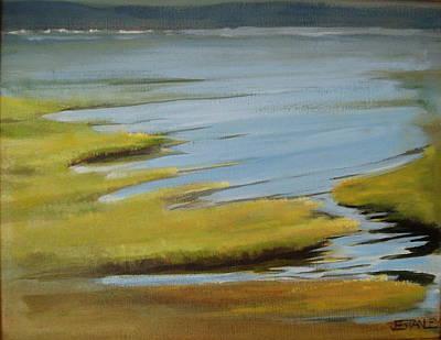 Tidal Pond Art Print by Jenny Stanley