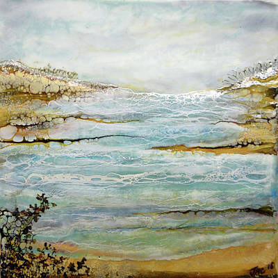 Painting - Tidal Pool 1 by Jennifer Creech