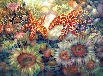 Painting - Tidal Pool II by Ann Nicholson
