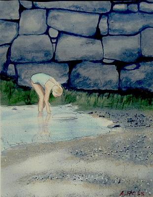 Painting - Tidal Pool Treasures by Anthony Ross