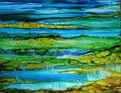 Tidal Pools Art Print