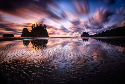 Photograph - Tidal Reflection Serenity by Mark Robert Rogers