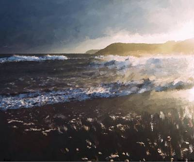 Painting - Tidal Swell  by Mark Taylor