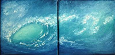 Painting - Tidal Wave by Natascha de la Court