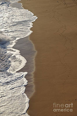 Tidal Waves In Lagoa Art Print