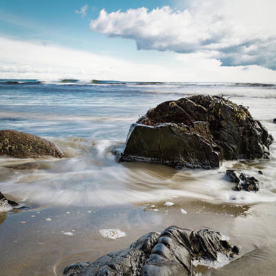 Photograph - Tide Coming In #2 by Natalie Rotman Cote