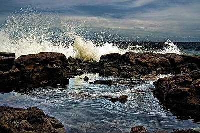 Photograph - Tide Coming In by Christopher Holmes