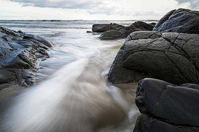 Photograph - Tide Coming In by Natalie Rotman Cote