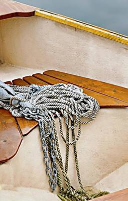Photograph - Rope Spill by Diana Angstadt