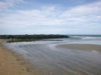 Photograph - Tide Flats 2 by Ellen Paull