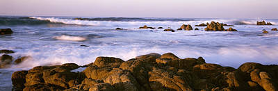 Pacific Grove Photograph - Tide Formation In Sea, Pacific Grove by Panoramic Images