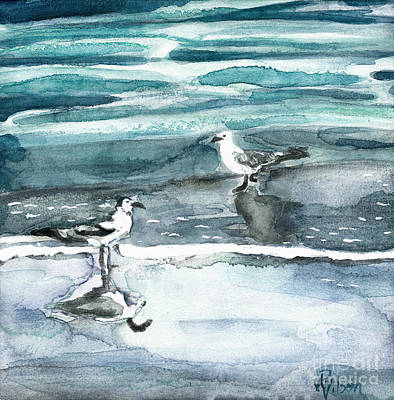 Painting - Tide Hopping by D Renee Wilson