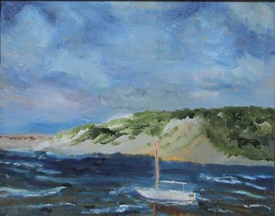 Painting - Tide Out by Michael Helfen