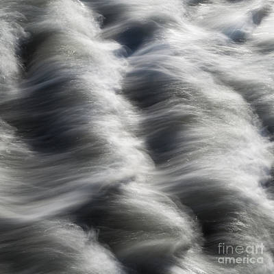 Northumbrian Photograph - Tide Over Rocks by Tony Higginson