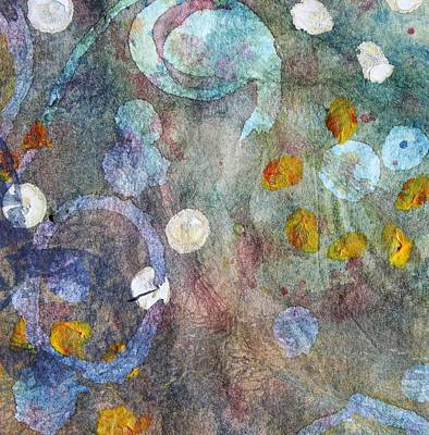 Piscina Painting - Tide Pool 12 by  Judy Bernier
