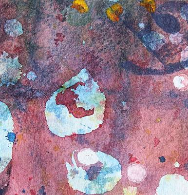 Piscina Painting - Tide Pool 14 by  Judy Bernier