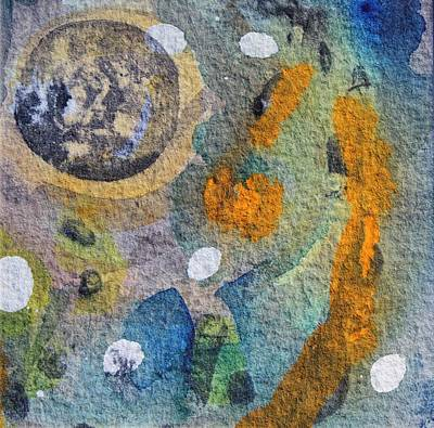 Piscina Painting - Tide Pool 4 by  Judy Bernier