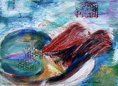 Painting - Tide Pool I by Carol Schindelheim