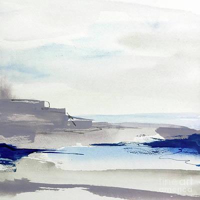 Wall Art - Painting - Tide Pools II by Chris Paschke