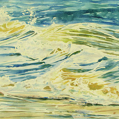 Wall Art - Painting - Tide Rising by Ann Thompson Nemcosky