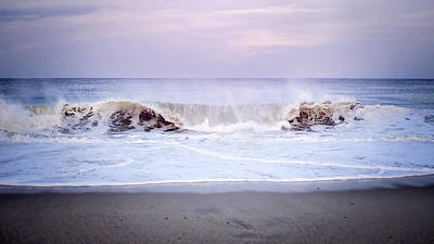 Photograph - Tide Rolling In by Heather Applegate