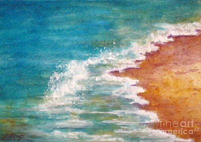 Painting - Tide Rushing In by Suzanne Krueger
