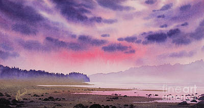 Painting - Tideflats Sunset by James Williamson