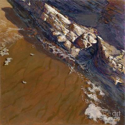 Painting - Tidepool - Gaviota by Betsee Talavera