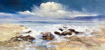 Art Print featuring the painting Tidepool by Helen Harris