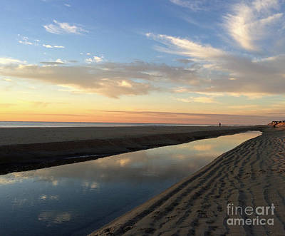 Photograph - Tidepool Reflections by Mary Haber