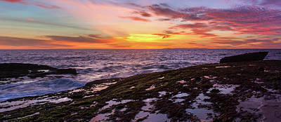 Photograph - Tidepools At Days End by Cliff Wassmann