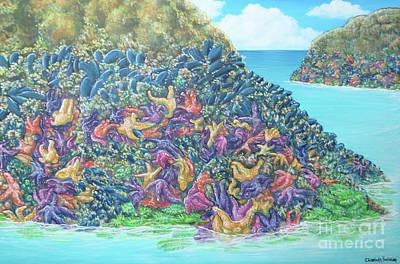 Painting - Tidepools by Elisabeth Sullivan