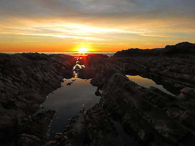 Photograph - Tidepools by Paul Foutz