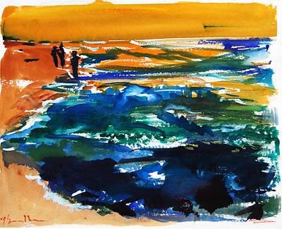 Painting - Tidepools by Zolita Sverdlove