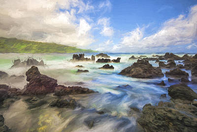 Digital Art - Tides II by Jon Glaser